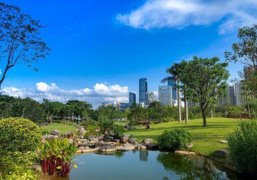 Parque Lianhuashan, el pulmón de Shenzhen