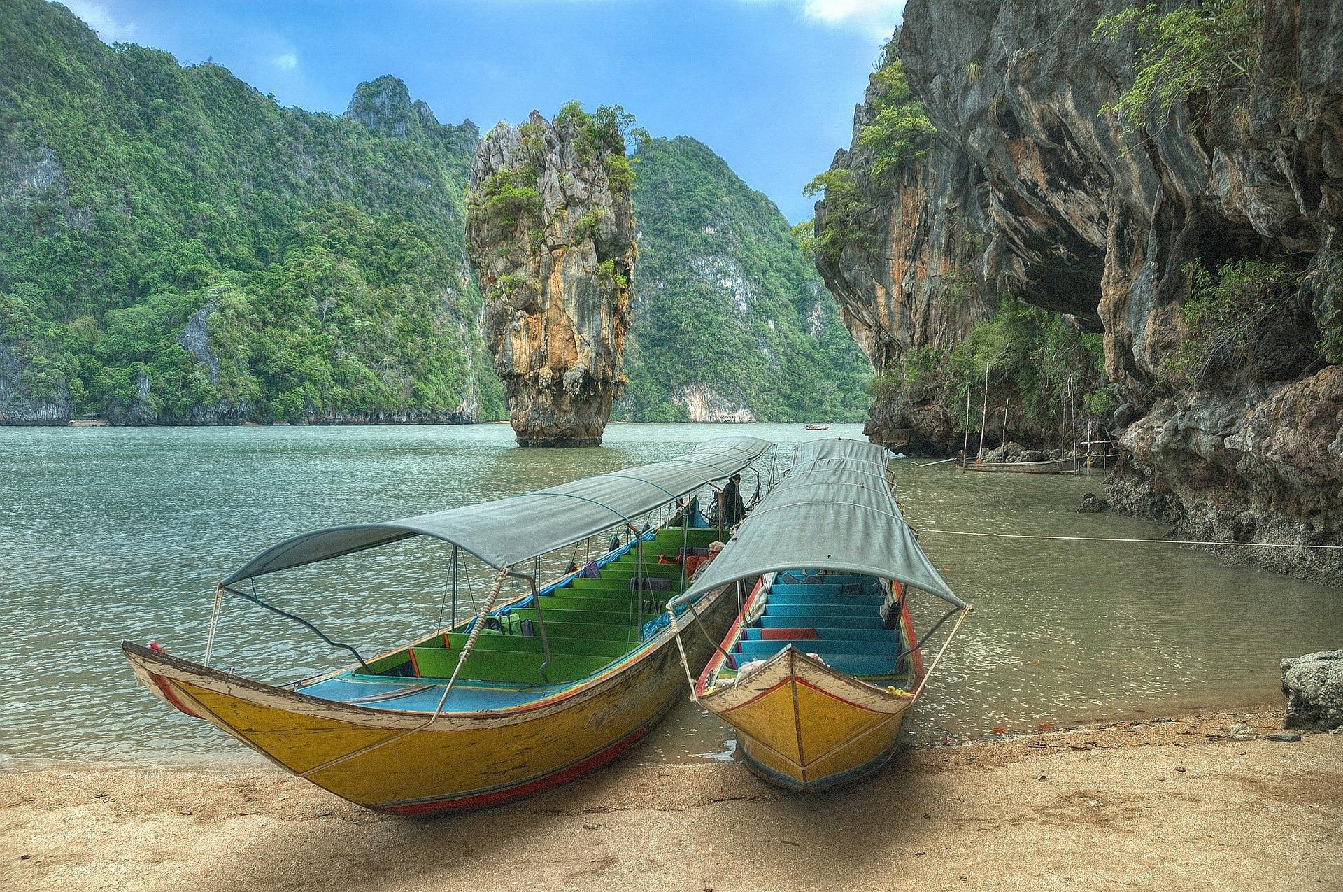 Bahía de Phang Nga, Phuket - Viajeros por el Mundo