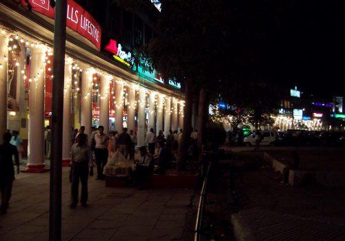 Connaught Place, de compras en Delhi