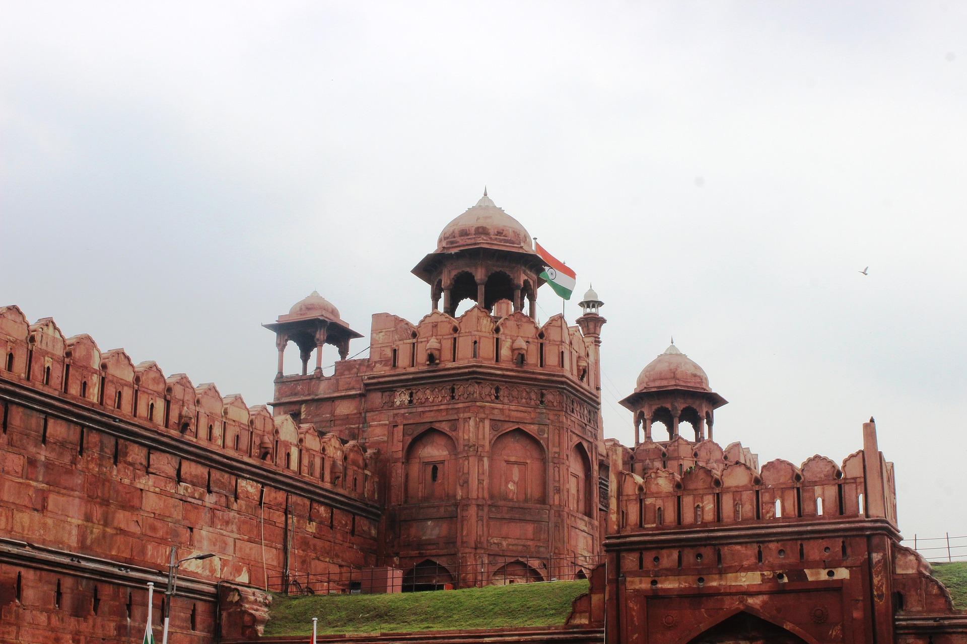 Fuerte Rojo en Delhi