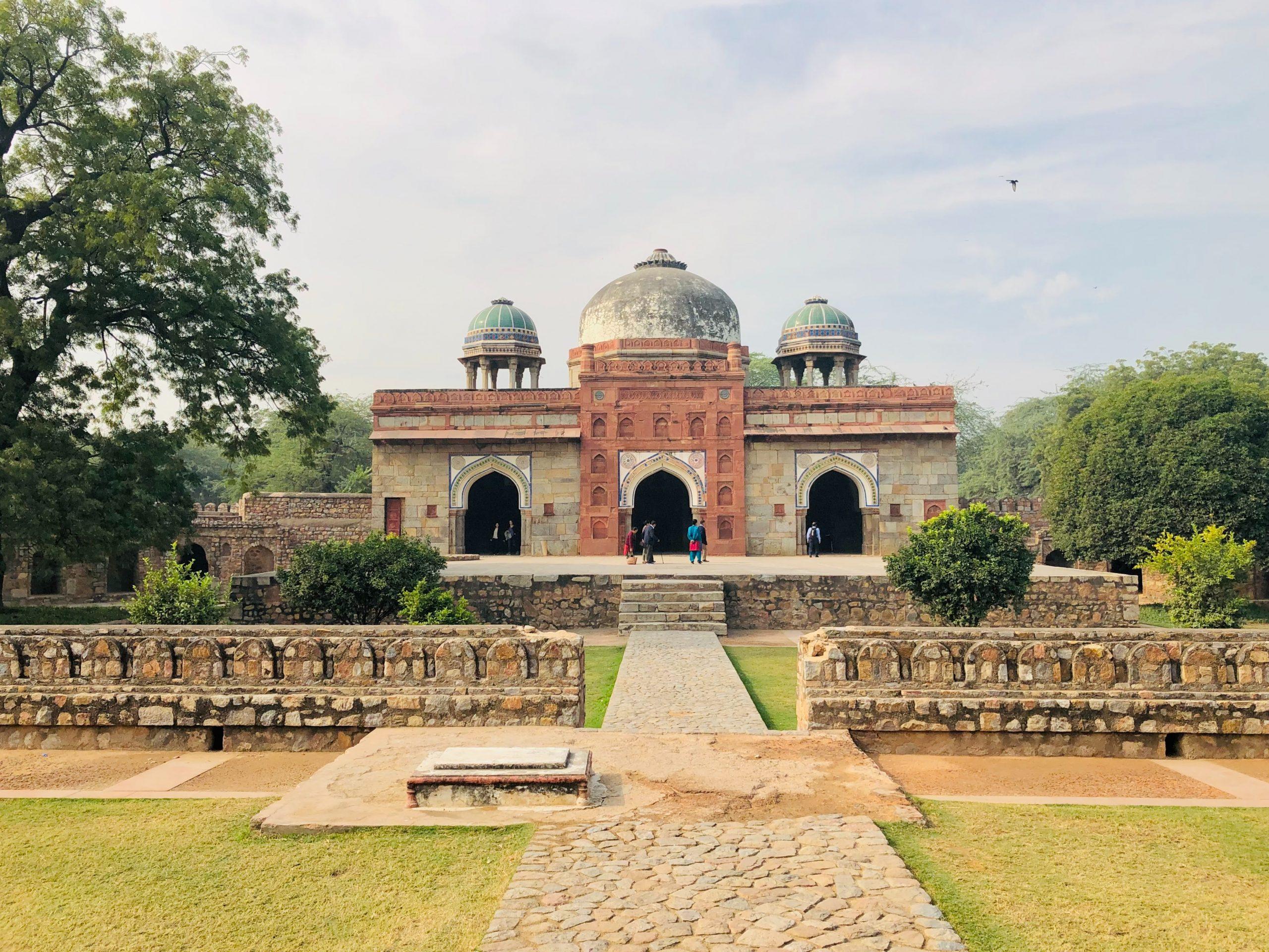 qué ver en Delhi Tumba de Humayun