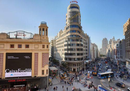 Calle de Alcalá,  la arteria comercial madrileña