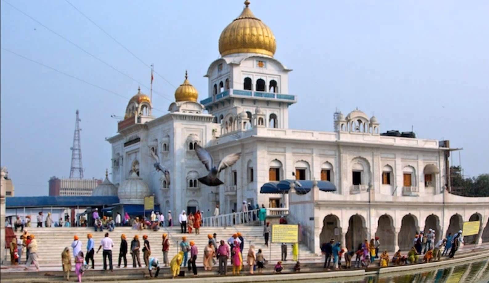 qué ver en Delhi Templo Sij Gurdwara Bangla Sahib