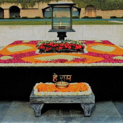 Tumba de Mahatma Gandhi – Raj Ghat