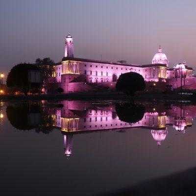 Rashtrapati Bhavan, Delhi