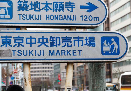 Mercado Tsukiji, pescados en el central