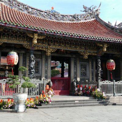 Templo Longshan, Taipéi