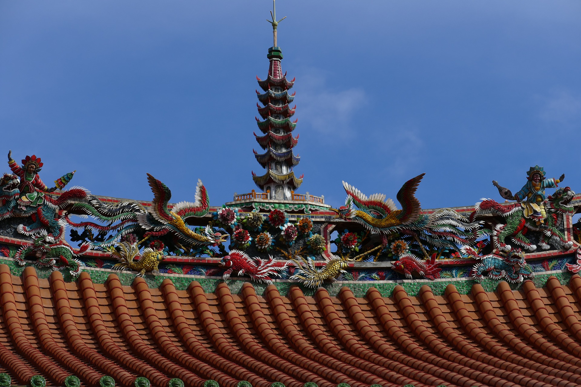 qué ver en Taipéi Templo de Longshan