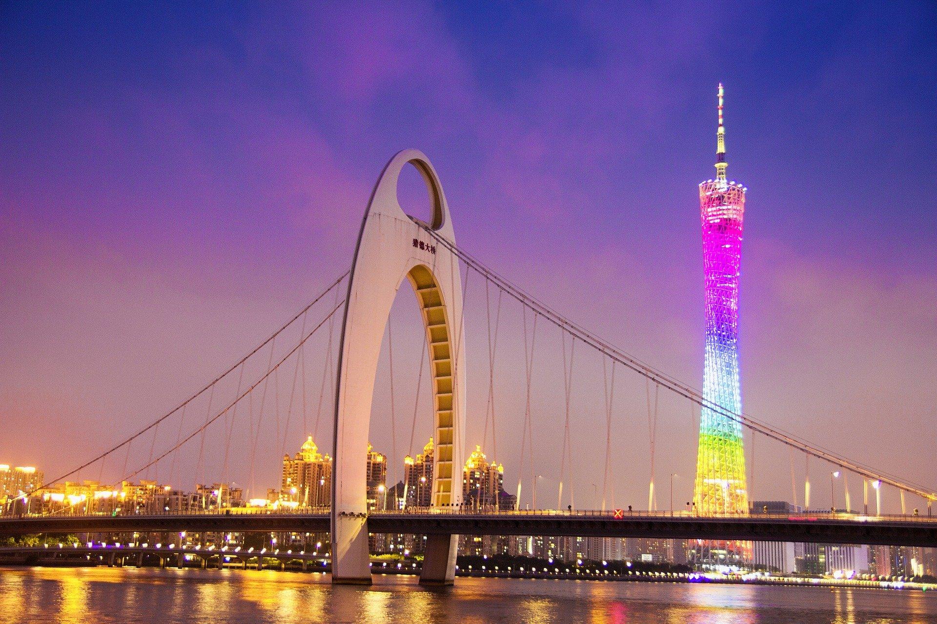 Liede Bridge, Guangzhou - Viajeros por el Mundo