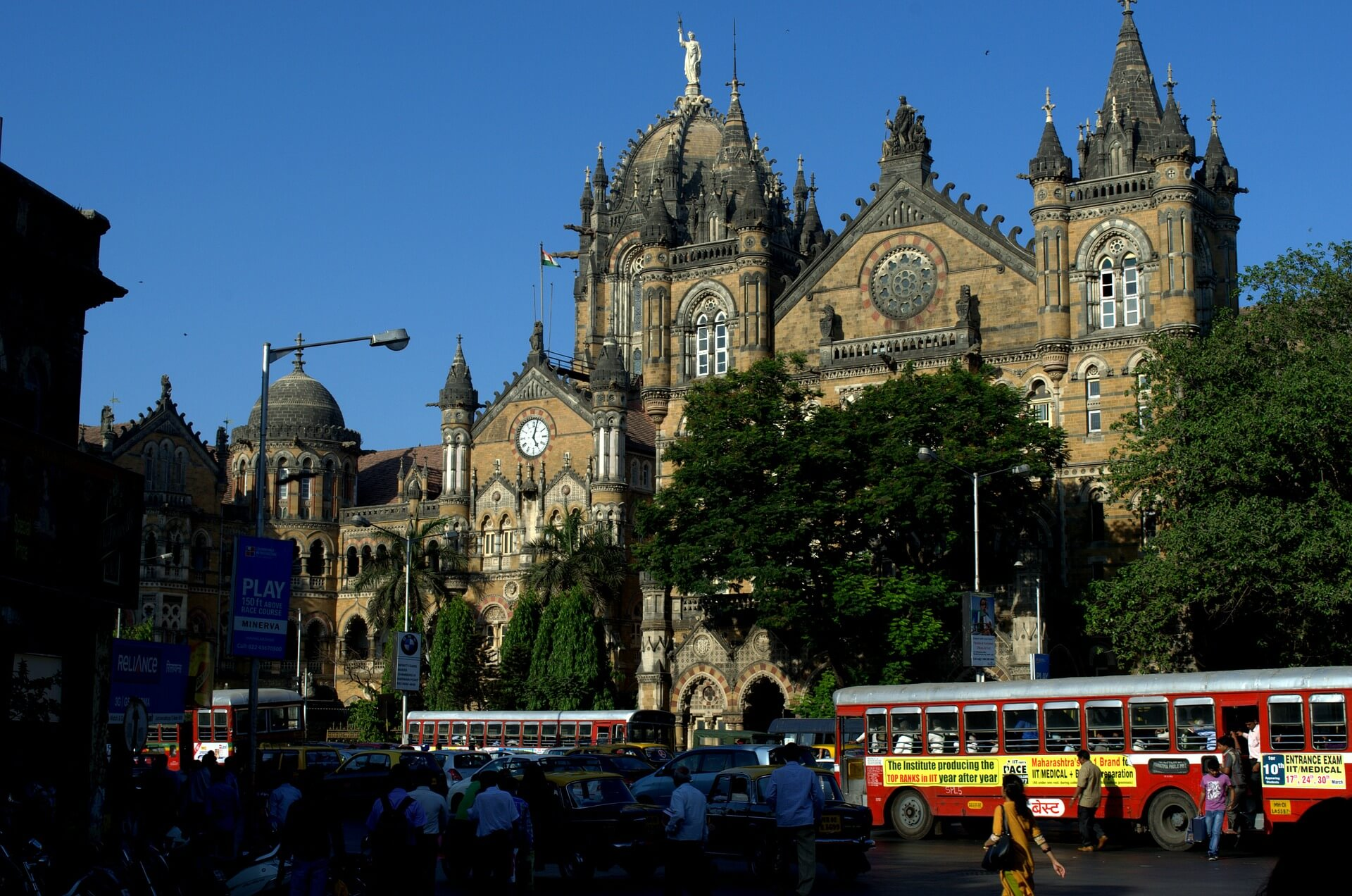 qué ver en Mumbai Estación Victoria
