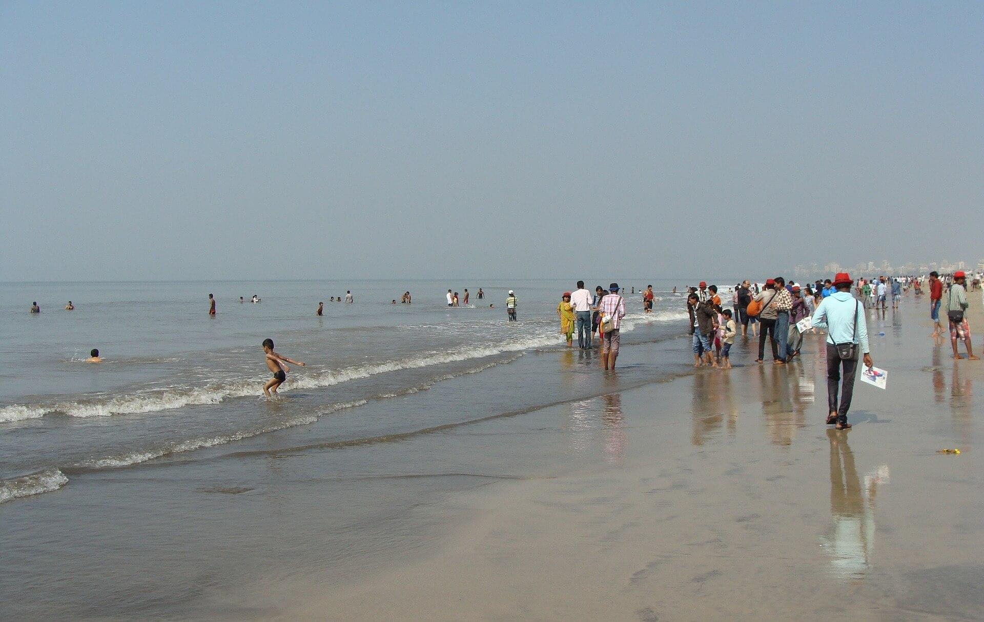 qué ver en Mumbai Playas de Mumbai