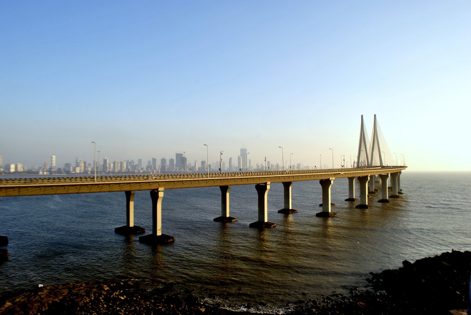 qué ver en Mumbai Puente Bandra