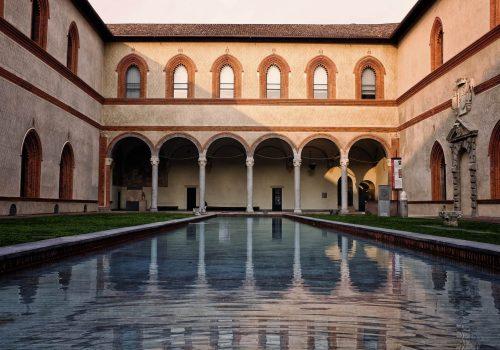 Castillo Sforzesco, Milan