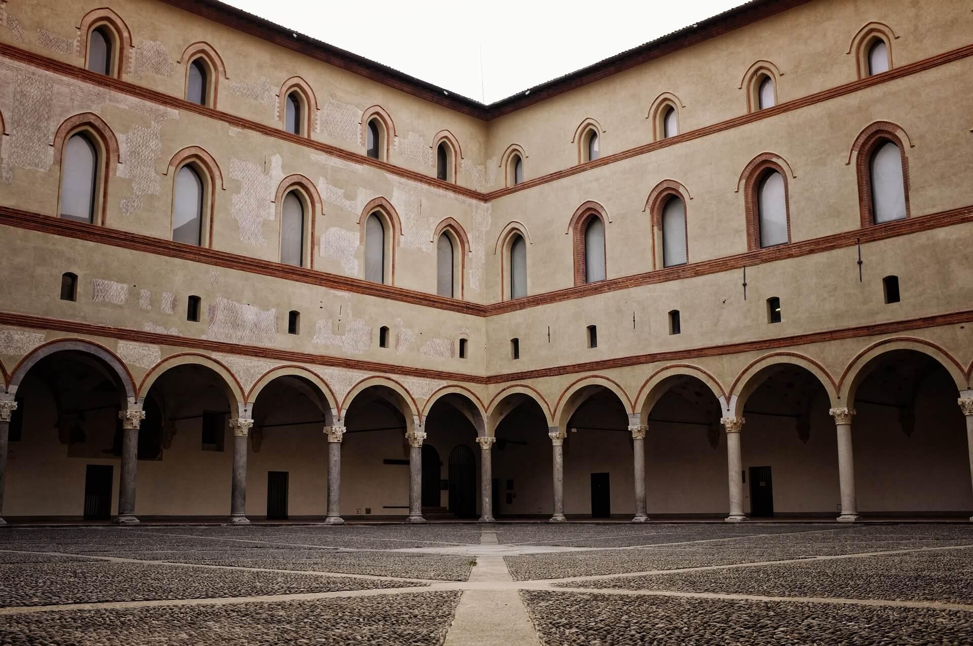 qué ver en Milan Castillo Sforcesco