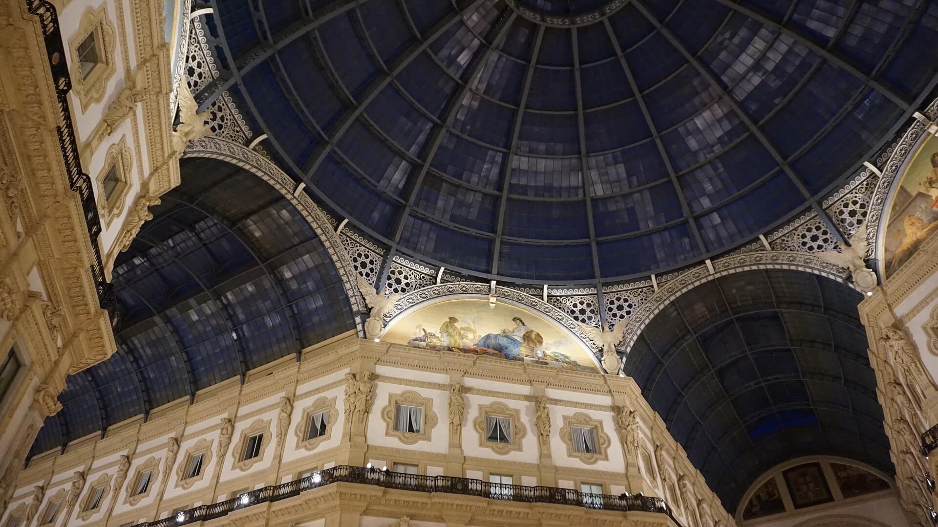 qué ver en Milán Galleria Vittorio Emanuele II