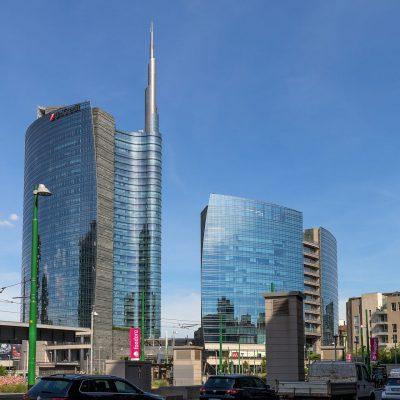 Piazza Gae Aulenti, Milán