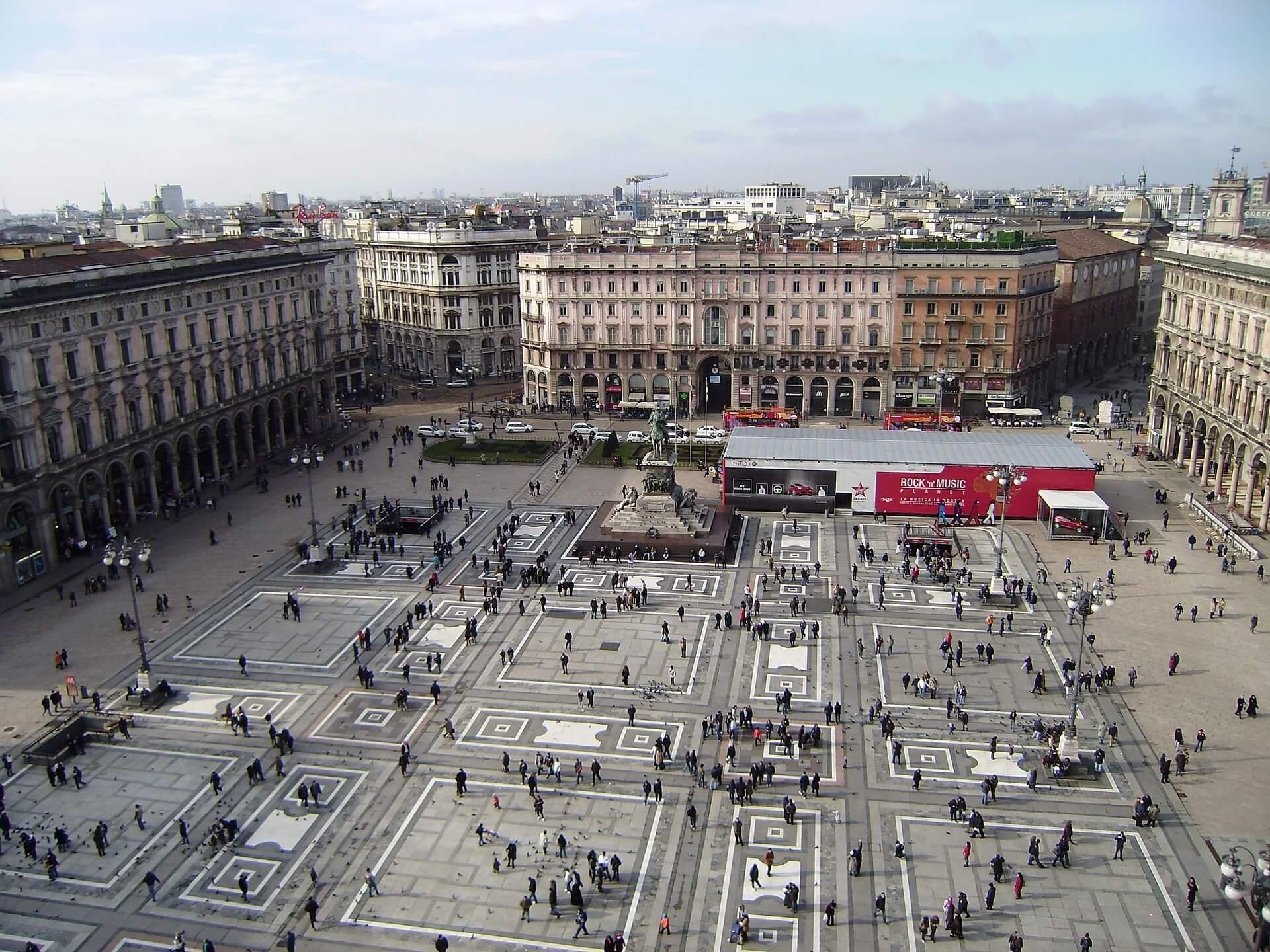 qué ver en Milan Piazza del Duomo