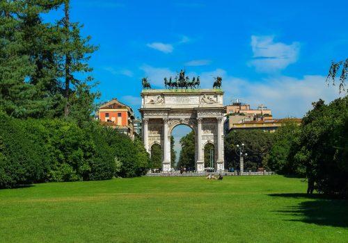 Parque Sempione, pulmón de Milán