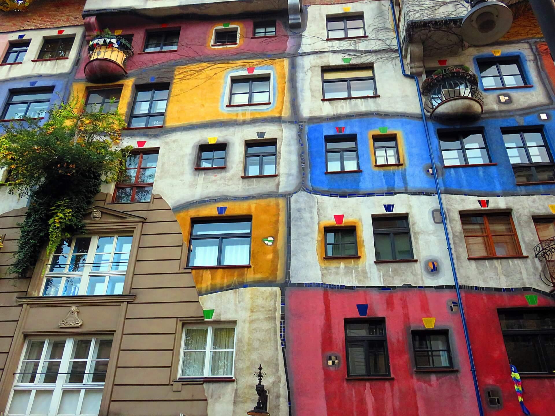Hundertwasserhaus, Viena - Viajeros por el Mundo