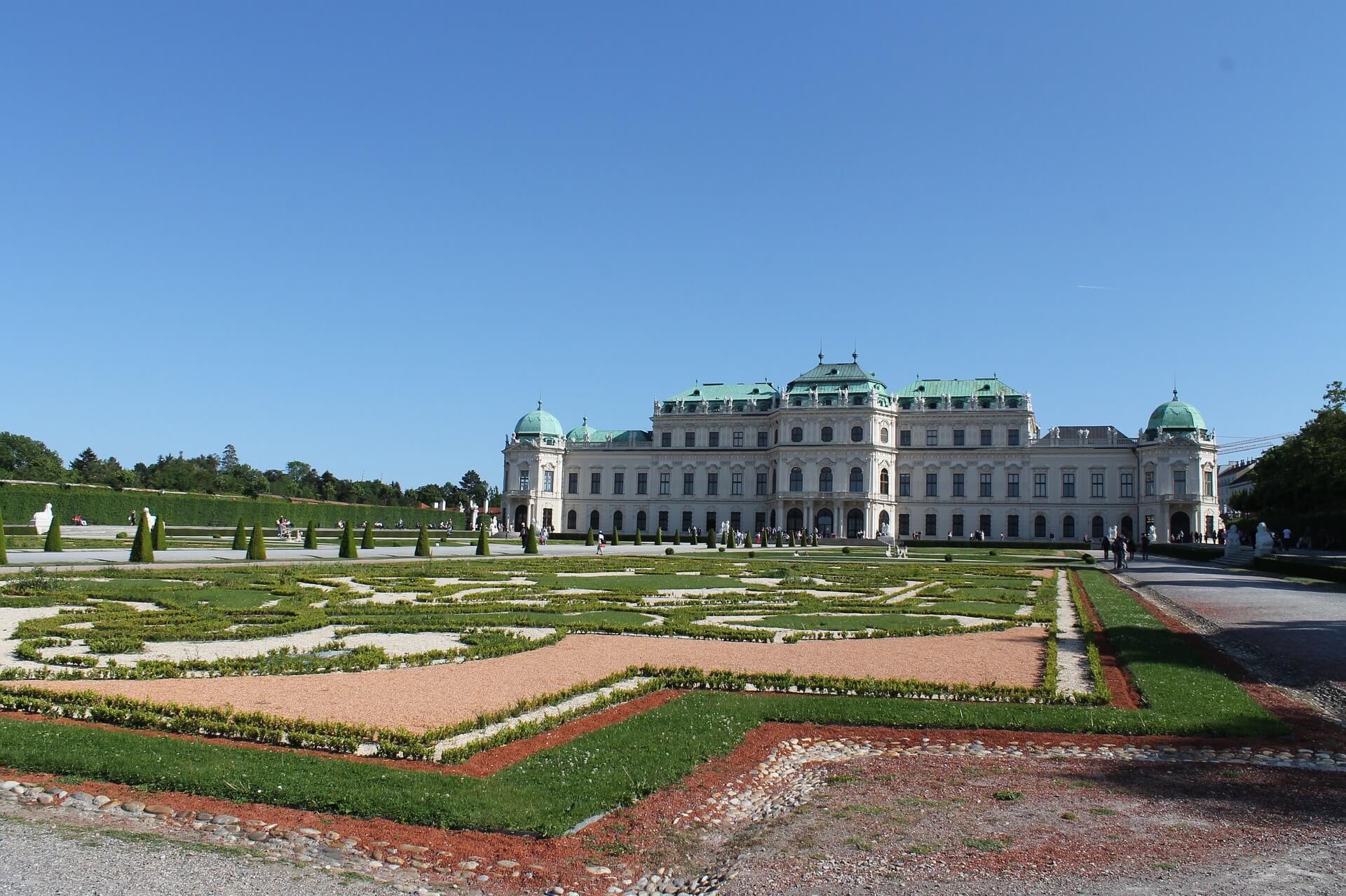 qué ver en Viena Palacio Belvedere