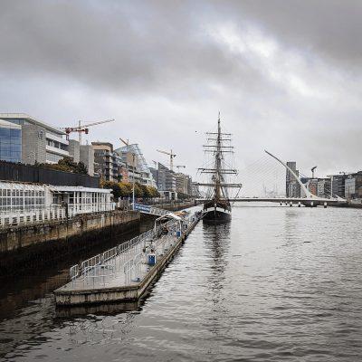 Río Liffey, Dublín