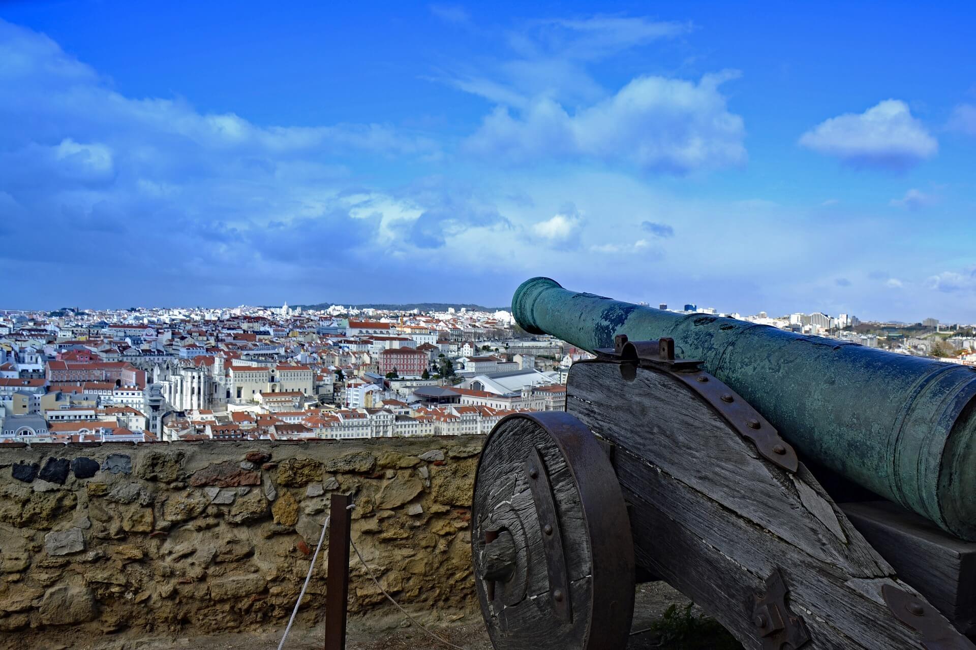 Castillo de San Jorge, Lisboa - Viajeros por el Mundo