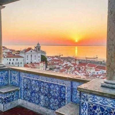 Mirador de Santa Lucía, Lisboa