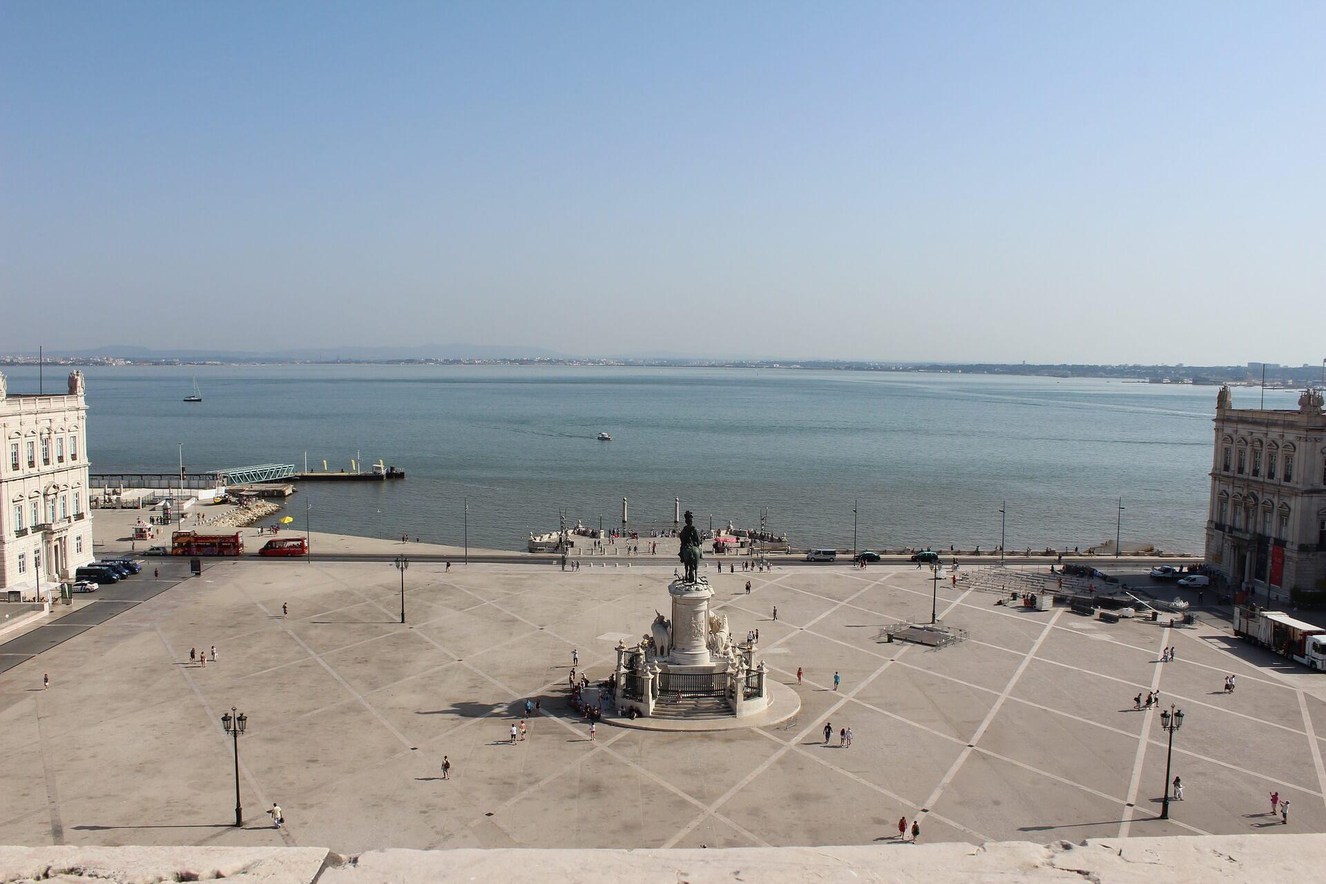 qué ver en Lisboa Plaza del Comercio