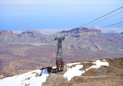 ¿Cómo subir el pico del Teide en teleférico?