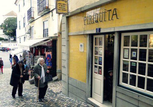 Piriquita, bar típico