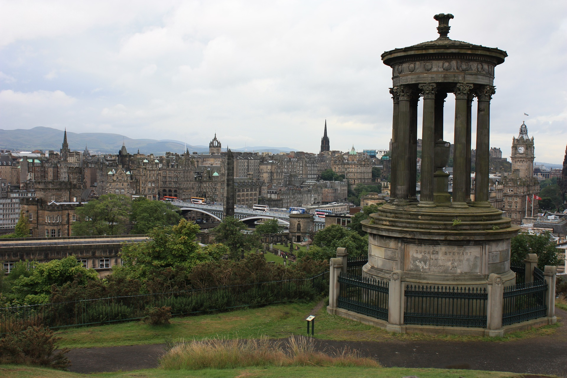 qué ver en Edimburgo Calton Hill