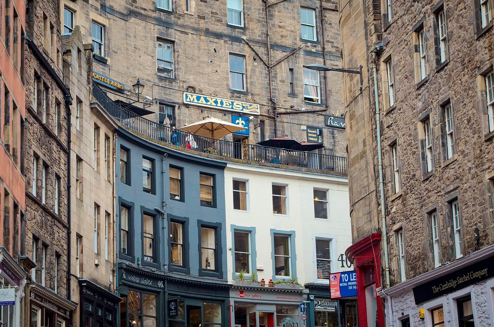 qué ver en Edimburgo Victoria Street