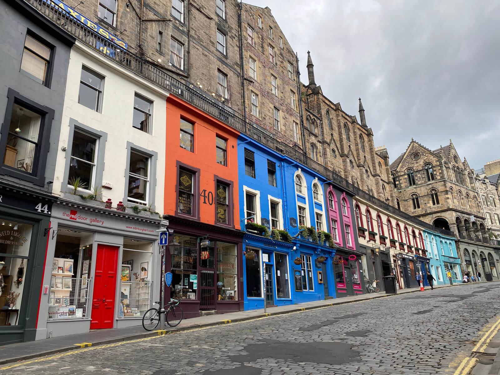 Victoria Street, Edimburgo - Viajeros por el Mundo